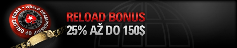 Pokerstars Reload Bonus 2021