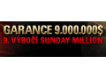 PokerStars 9. výročí Sunday Million s garancí $9,000,000