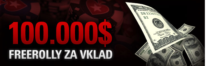pokerstars freerolly za vklad