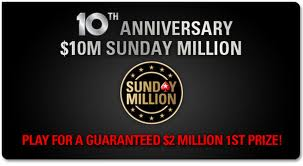 PokerStars 10 mil sunday million