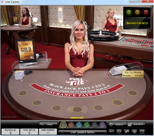 Full tilt Poker casino live hry