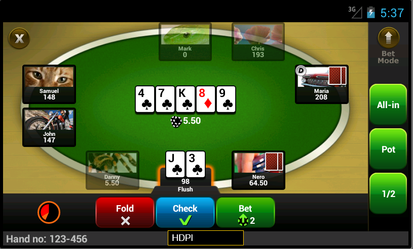 Party poker telephone support